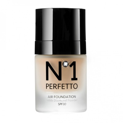AIR FOUNDATION with Diamond Powder Tonalità: CHIARO 30 ml SPF 30